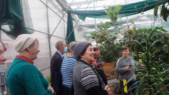экскурсия по тропическим и субтропическим растениям